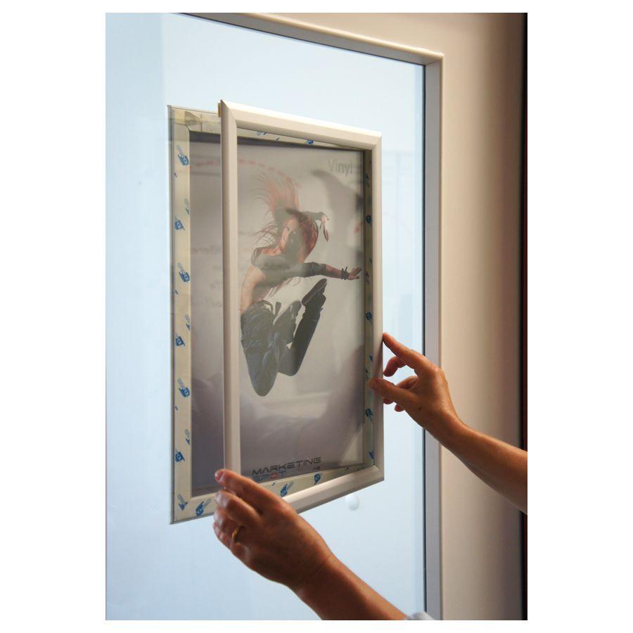 Tableau D Affichage Vitré cadre d'affichage pour vitre (a3)